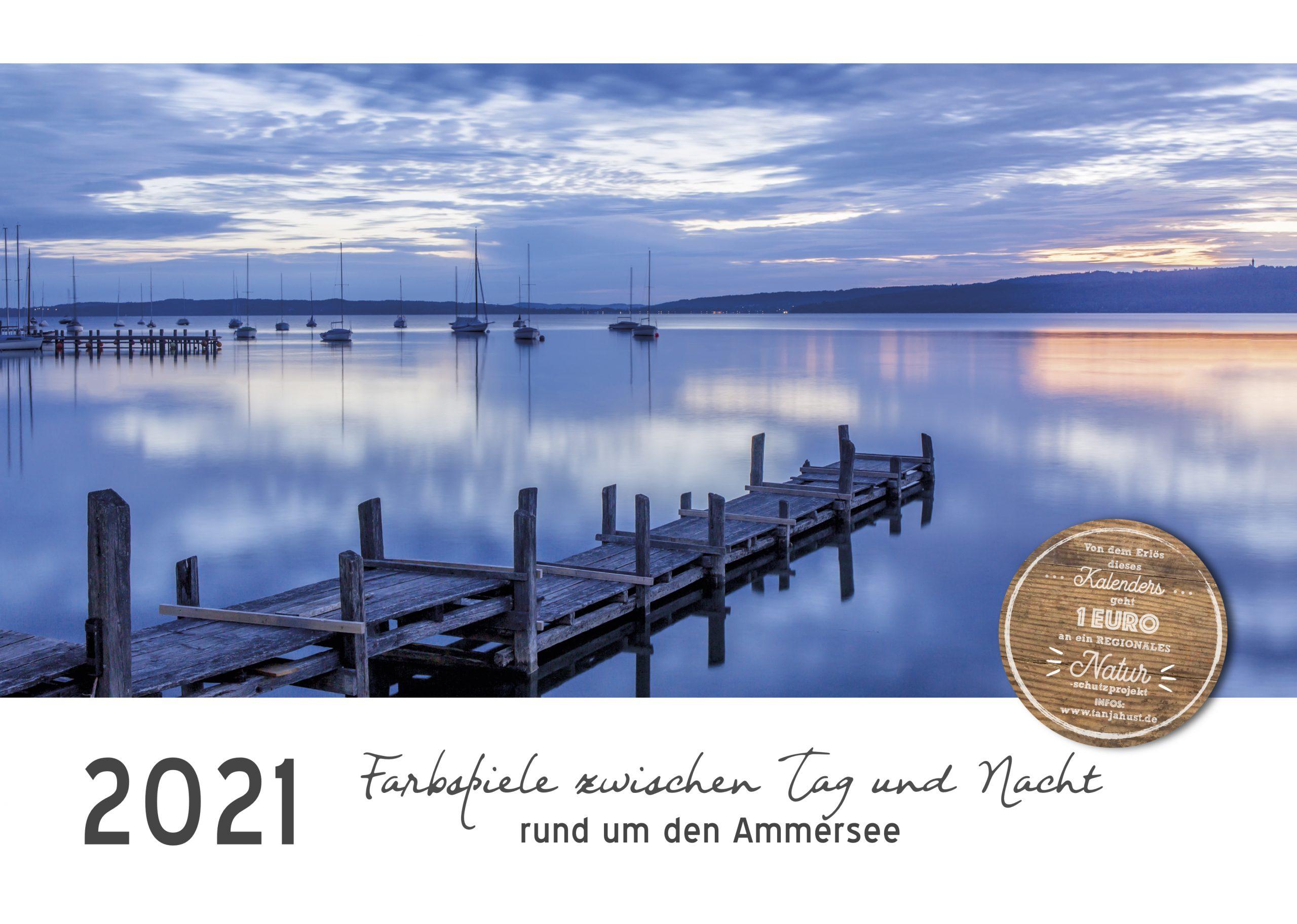 Der  Ammersee-Kalender für 2021 ist da!