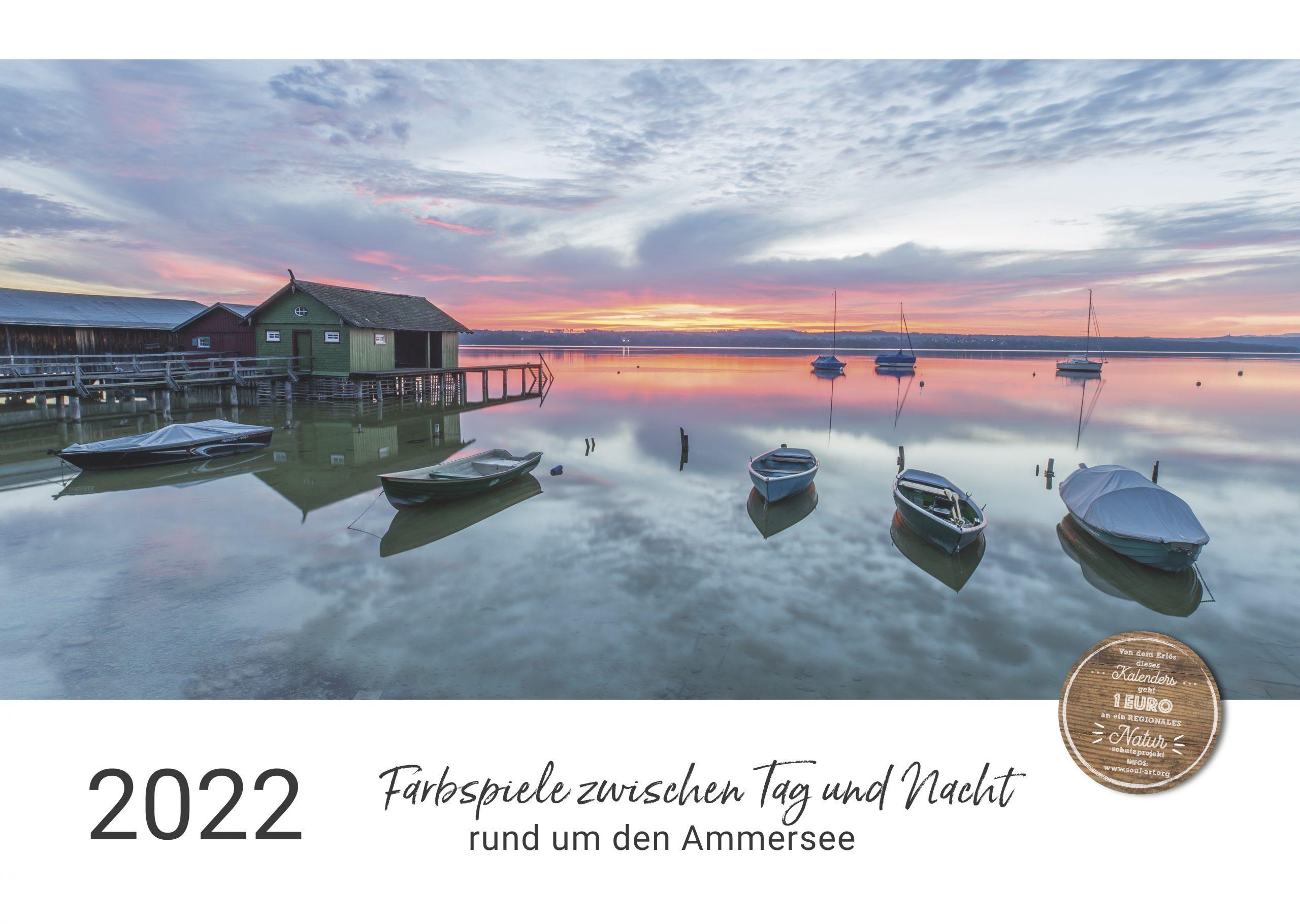 Der  Ammersee-Kalender für 2022 ist da!